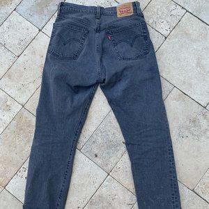 Women's Levi's cropped 501 jeans